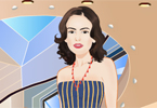 Camilla Belle dress up game