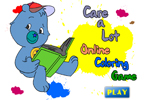 Care A Lot Online Coloring Game