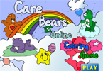 Care Bears 1 Online Coloring Game