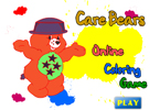 Care Bears Online Coloring Game