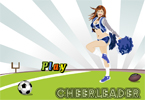 Peppy Cheerleader