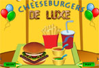 Cheeseburger de luxe