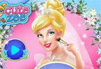 Cinderella\'s bruiloft make-up