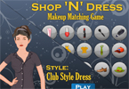 Makeup Matching Game - Style - Club Style Dress