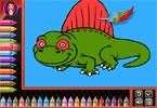 Coloring Book - Dinosaur