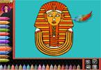 libro da colorare: egypt