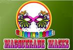 Coloring Book - Masquerade Masks