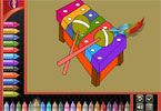 Coloring Book Kid Toys