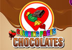 Coloriage - chocolats