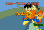 Conan - The Boy in Future Online Coloring Game