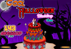 Cool Halloween Wedding Cake