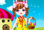 Cute Baby Easter Day Dressup