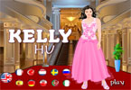 Cute Kelly Hu Dress up Game
