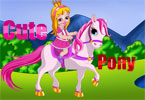 Little Pony bonito vestir-se