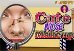Cute Nose Makeup