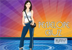 Cute Penelope Cruz Dress up Game