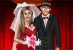 Cute Wedding Couple Dressup