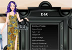 D&G Dress Up Game