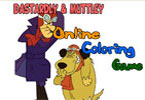 Dastardly and Muttley Online Coloring Game