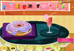 decor van de donut
