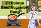 Delicious Beef Vegetable Soup