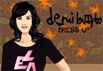 Demi Lovato Dress Up