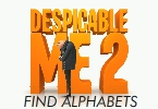 Despicable Me 2 - Find Alphabets