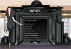 Diesel Dress Up Game