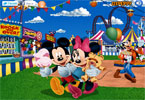 Parque de Disney decoración