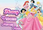disney match de mémoire de la princesse
