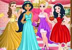 Disney prinses afstudeerfeest
