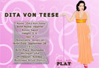 Dita Von Teese Dress up Game