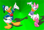 donald duck Online Colorazione pagina