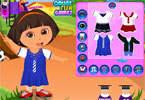 dora dress up nowy semestr