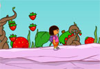 Dora Strawberry World jogos de aventura