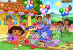 Dora the Explorer Partei Dekor