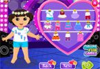 dora Party Dress Up Valentine