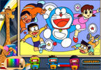 Doraemon Online Coloring Page