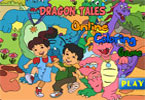 Dragon Tales Online Coloring Game