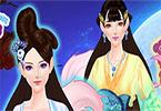 Dress Up Salon Chinese Princess