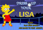 Dress up your Lisa Simpson