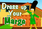 Dressup Marge Simpson