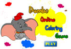 Dumbo Online Coloring Game