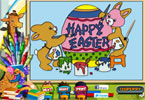 Easter Egg Online Coloring Page
