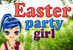 Pâques party girl dress up