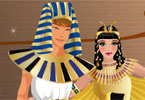 roi d'Egypte et de la reine