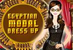 Egyptische model dress up