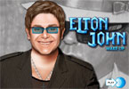 Elton John Schminke