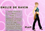 Emilie De Ravin Dress up Game