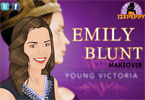 Emily Blunt trucco
